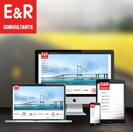 Website công ty xây dựng E&R