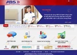 Website tài chính ABS