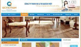 Website sàn gỗ QCVIETNAM