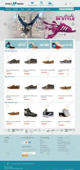 Website giầy thời trang Sport Shoes