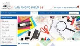 Website văn phòng phẩm 68