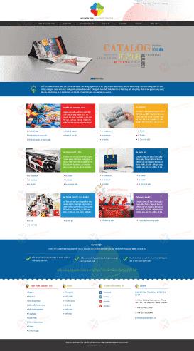 Website in ấn Nguyên Tâm