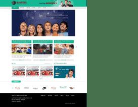 Website công ty Tổ chức sự kiện Business