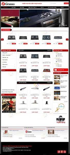 Website bếp gas Grasso