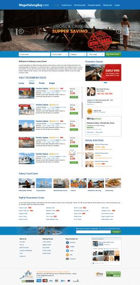 Web Tàu du lịch Halong Bay