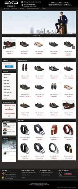 Website thời trang giầy da