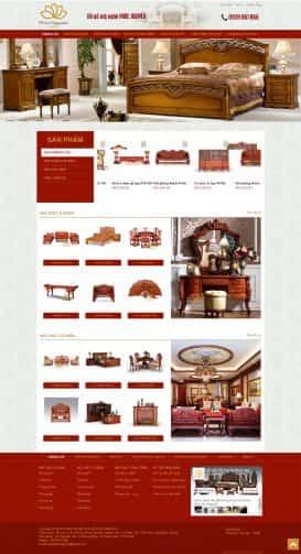Website nội thất Phúc Nguyễn