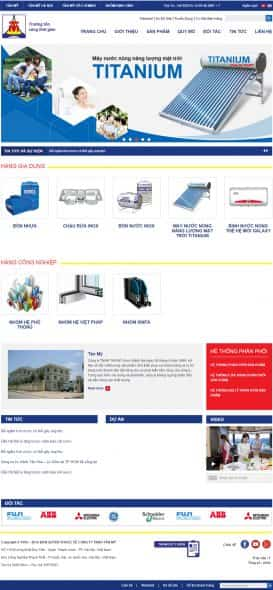 Website bồn nước Tân Mỹ