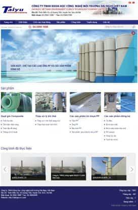 Website xử lý nước thải