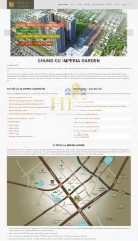 Website Dự án Time City