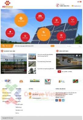 Website giới thiệu Công ty HC Global