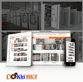 Website  sản xuất tủ điện