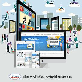 Website truyền thông Kim Sơn Media