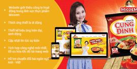 Mẫu thiết kế website bán hàng Micoem