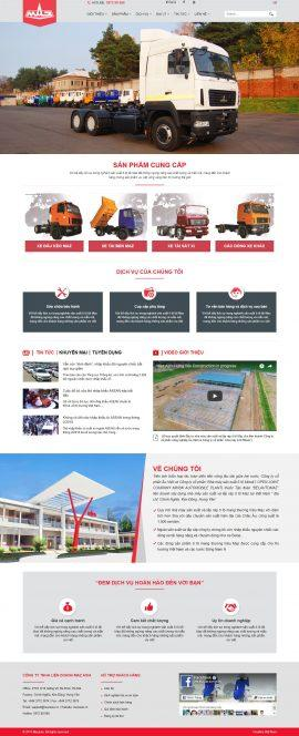 Website nhà máy sản xuất và lắp ráp ô tô Maz tại Việt Nam