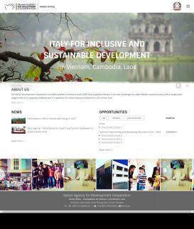Website tổ chức Hợp tác Phát triển Ý
