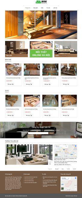 Website Nội thất online