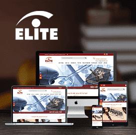Mẫu website Công ty Luật ELITE