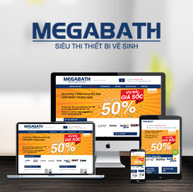 Website Thiết bị về sinh Megabaht
