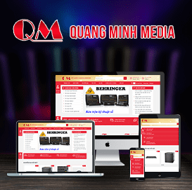 Website Quang Minh Media