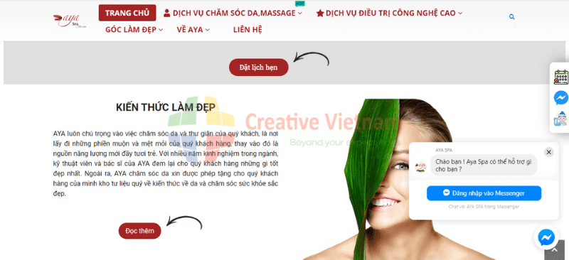 template-website-spa-chatbot