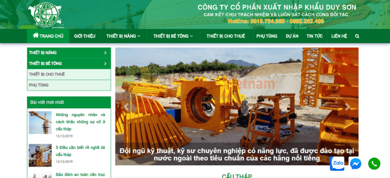 website-thiet-bi-may-xay-dung